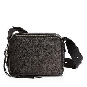 All Saints Leather Crossbody Bag